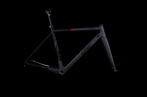 ZINN BIKE Vento RF1 Road Frame Set (Black&Racing Red)