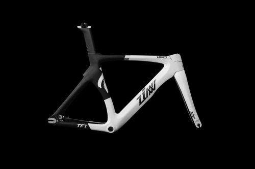 ZINN BIKE Vento TF1 Track Frame Set (White&Metallic White)