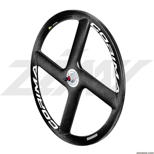 CORIMA HM Carbon 4 Spoke Front/Rear Wheel Set (Track/3K)