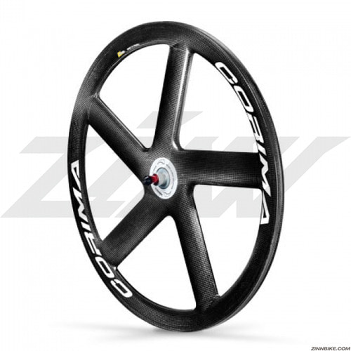 CORIMA HM Carbon 5 Spoke Front Wheel Set (Track/3K)