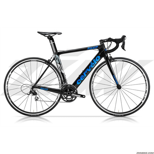 Cervelo S2 105 5800 Road Bike (BLACK/BLUE)