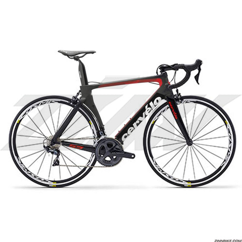 Cervelo S5 Ultegra 8000 Road Bike (BLACK/RED)