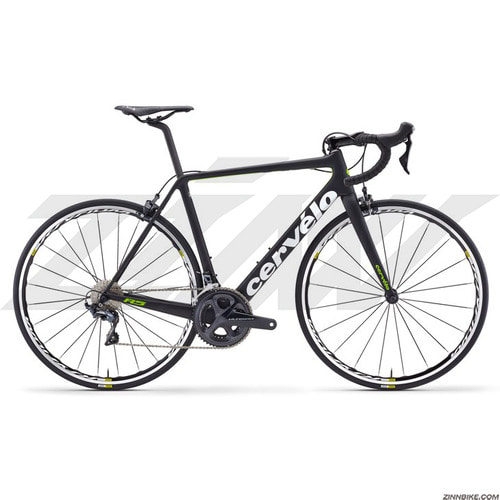 Cervelo R5 Ultegra 8000 Road Bike (BLACK/WHITE/GREEN)