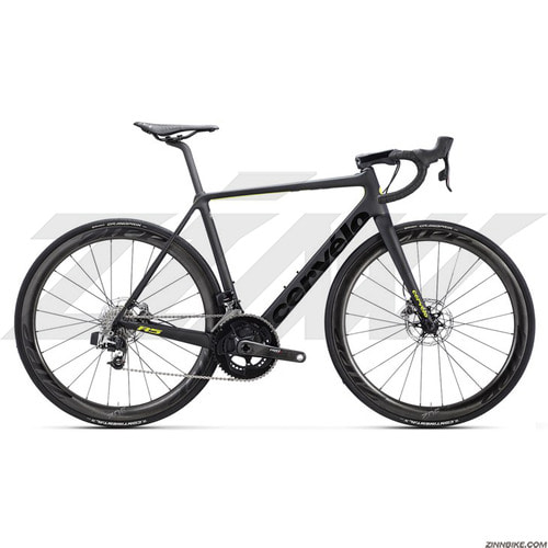 Cervelo R5 Disk RED E-tap Road Bike (BLACK/FLUORO)