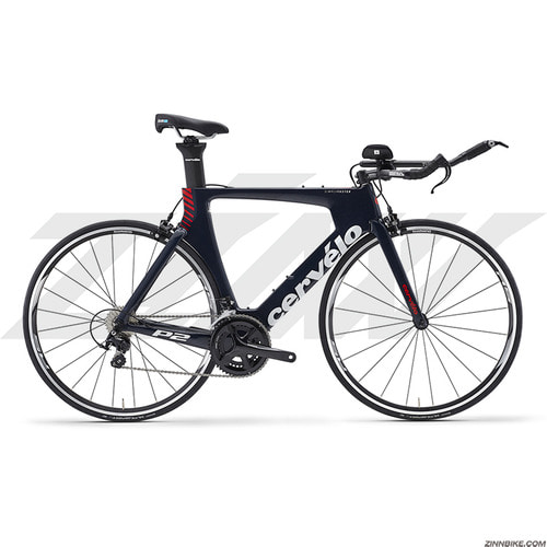 Cervelo P2 105 5800 TT/Road Bike (NAVY/WHITE/RED)