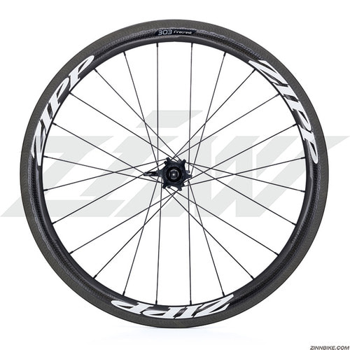"19"" ZIPP 303 Firecrest Carbon Clincher Wheel Set"