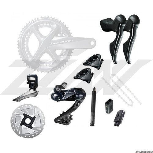SHIMANO Ultegra Di2 Disc (R8070) Upgrade Kit