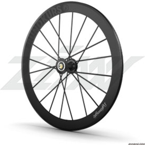 Lightweight RUNDKURS Track Clincher Wheel Set