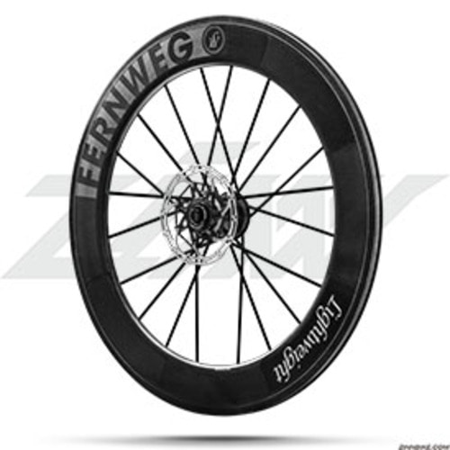 Lightweight FERNWEG 80 Disc Tubular Wheel Set