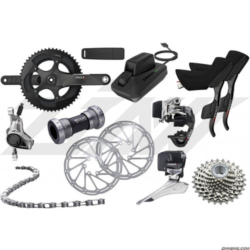 SRAM Red eTAP Road HRD Disc Group Set