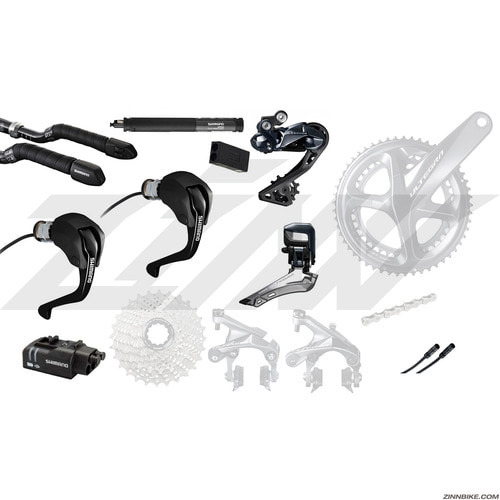 SHIMANO Ultegra Di2 (R8060) TT/Triathlon Upgrade Kit