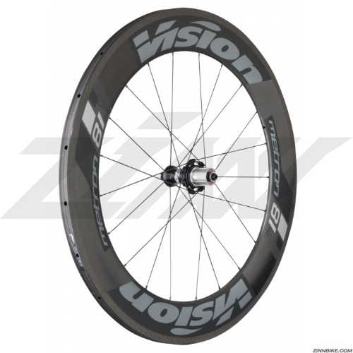 VISION Metron 81 SL Tubular Wheel Set