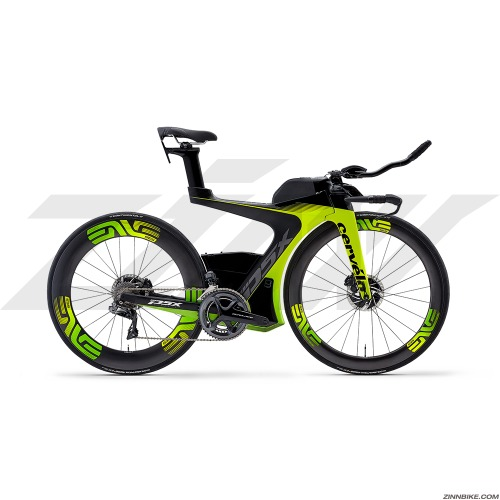 Cervelo P5x Disc Dura-Ace Di2 9180 Road Bike (Fluolo/Green/Black)