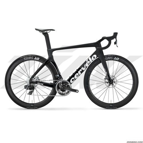 "19"" Cervelo S5 Disc Sram Red E-Tap Axs Road Bike (Black/Graphite/White)"