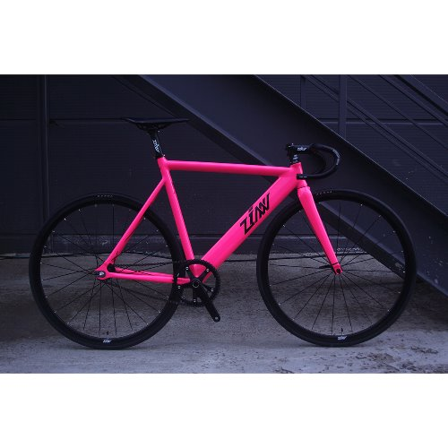 ZINN BIKE Janus Track/Fixie Bike (Hot Pink)