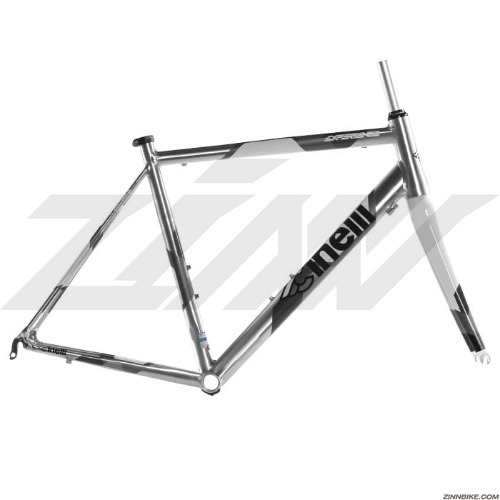 CINELLI Experience Frame Set (Silver)