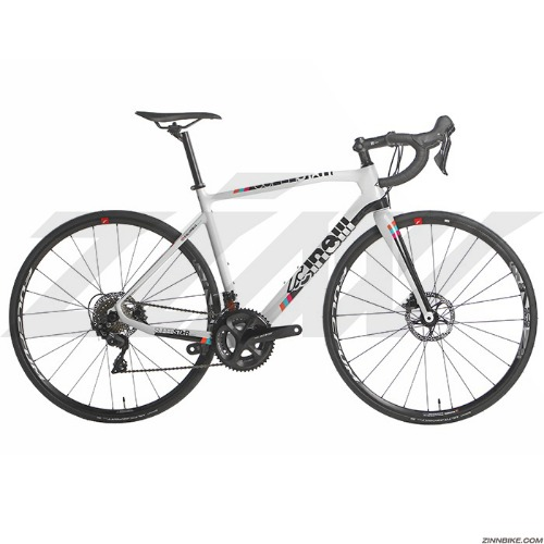 CINELLI Superstar Disc 105 R7020 Road Bike (White/Fulcrum Racing 700)