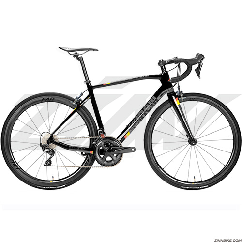 CINELLI Superstar Ultegra Road Bike (Black/Farsports Aiante C4)