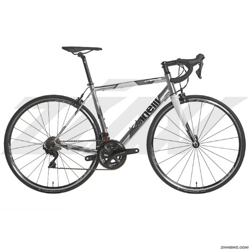 CINELLI Experience 105 R7000 Road Bike (Silver/Shimano RS100)