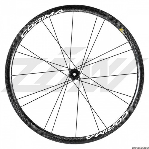 CORIMA 32mm WS Black Dx Wheel Set (Clincher/3K)