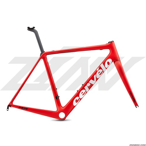 Cervelo R5 Rim Brake FRM LTD Frame Set (Red/White/Navy)