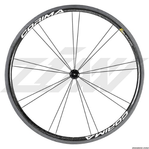 CORIMA 32mm WS Black Wheel Set (Clincher/3K)