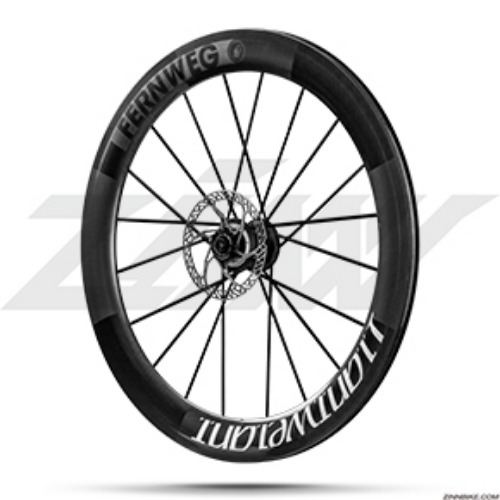 Lightweight FERNWEG 63 Disc Clincher Wheel Set
