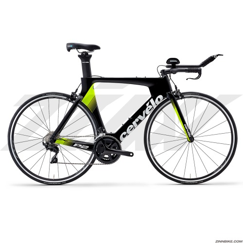 Cervelo P2 105 R7000 Road Bike (Black/Fluoro/White)