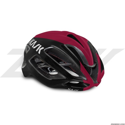 KASK PROTONE Team Ineos Edition Cycling Helmet (Black/Bordeaux)