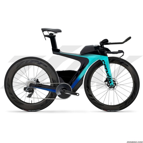 Cervelo PX-Series Disc Red eTap AXS 1 Road Bike (Light Teal/Navy)