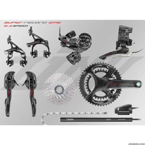 CAMPAGNOLO Super Record EPS Group Set (12s)