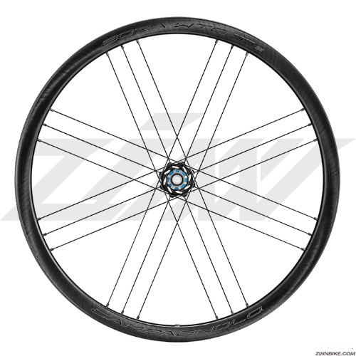 CAMPAGNOLO BORA WTO 33 Disc 2WF Wheel Set (Clincher/Dark Label)
