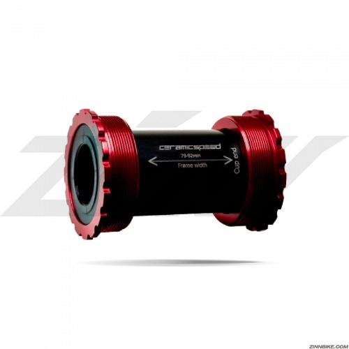 CeramicSpeed T47/86mm Shimano BB (Red)