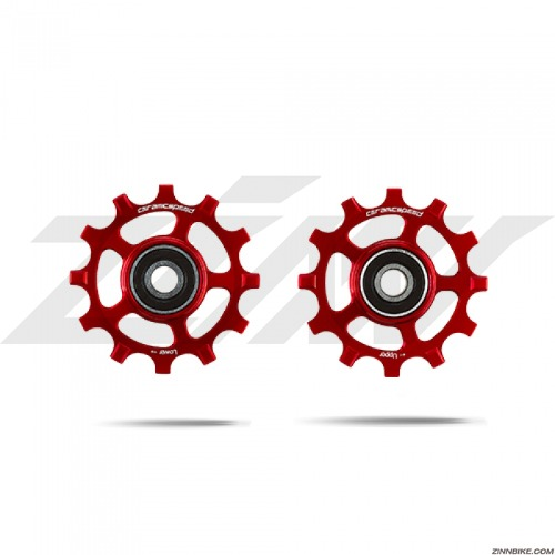 CeramicSpeed PW alloy Campagnolo Pulley Wheels (12s/Red)