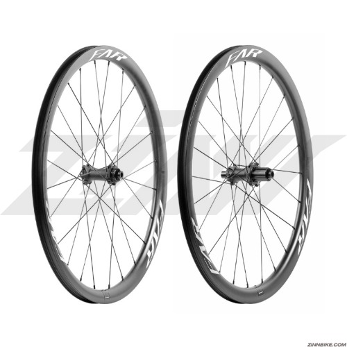 FAR Sports C3 Disc Tubeless Wheel Set (Ceramic Speed)