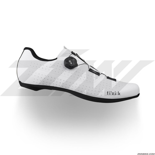 FIZIK Tempo Overcurve R4 Wide Road Shoes (White/Black)