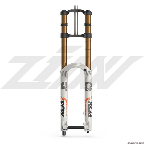 FOX 40 Float F-S 203 Grip 2 HSC/LSC/HSR/LSR Kabolt 110 Boost Front Shock Fork (Battleship Grey)