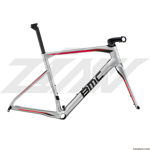 BMC Roadmachine 01 Frame Set (Silver Red)